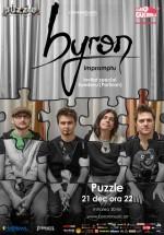 Concert byron – Improptu în Club Puzzle din Bucureşti