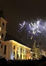 Revelion 2014 în Piaţa Mare din Sibiu
