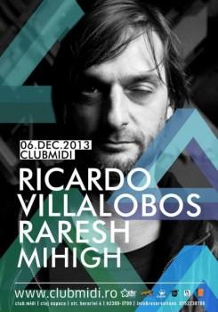 Ricardo Villalobos în Club Midi din Cluj-Napoca