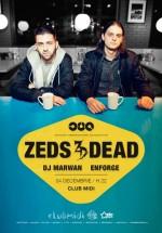 Zeds Dead în Club Midi din Cluj-Napoca