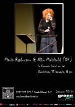 Concert Maria Răducanu la Berăria Hanul cu Tei din Bucureşti