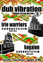 Dub Vibration #5 în Colectiv din Bucureşti