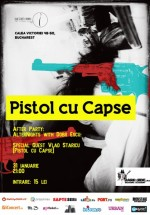Concert Pistol cu Capse în Question Mark din Bucureşti