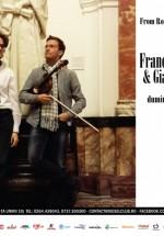 Recital Francesco Ionaşcu & Giacomo Bigoni în Diesel Club din Cluj-Napoca