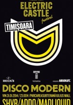 Disco Modern – Electric Castle Promo Party la Timişoara