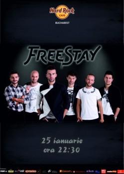 Concert FreeStay în Hard Rock Cafe din Bucureşti