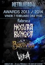 METALHEAD Awards 2013-2014 în Club Fabrica din Bucureşti