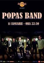 Concert Popas Band în Hard Rock Cafe din Bucureşti