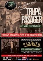 Live Music cu Pasager în The Drunken Lords din Bucureşti