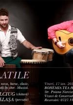 Concert Maxim Belciug & Gabriel Bălaşa la Bohemia Tea House din Bucureşti