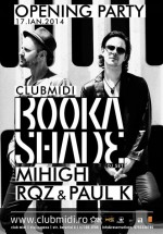 Opening party cu Booka Shade în Club Midi din Cluj-Napoca