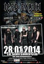 Concert Iced Earth la The Silver Church din Bucureşti (CONCURS)