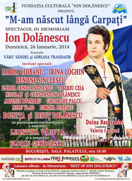 Ion Dolănescu M-am Născut Lîngă Carpați