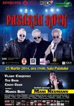 Concert Pasărea Rock (Baniciu, Kappl & Lipan) la Sala Palatului din Bucureşti