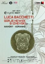 Cyclic Night cu Luca Bacchetti în Kristal Club din Bucureşti