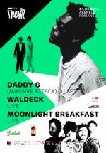 Daddy G (DJ Set) şi concert Waldeck la Arenele Romane din Bucureşti (CONCURS)