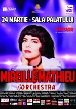 Concert Mireille Mathieu la Sala Palatului din Bucureşti