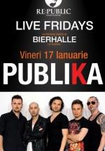 Concert Publika în RE:PUBLIC din Bucureşti