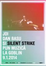 Dan Basu şi Silent Strike în Club Goblin din Bucureşti