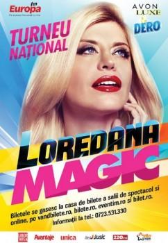 """Turneu Loredana – """"Magic"""" – Un turneu de Super Star"""