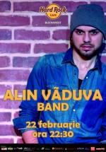 Concert Alin Văduva Band în Hard Rock Cafe din Bucureşti