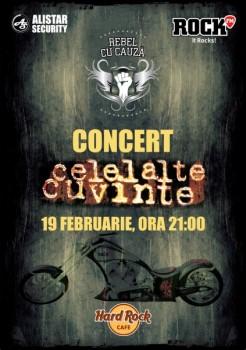 Concert Celelalte Cuvinte în Hard Rock Cafe din Bucureşti
