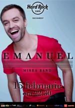 Concert Emanuel Mirea Band în Hard Rock Cafe din Bucureşti