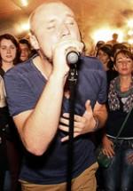 Grimus cântă în deschiderea concertului Deep Purple de la Bucureşti