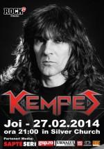 Concert Kempes în The Silver Church din Bucureşti