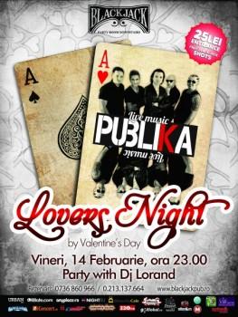 Live Music cu Publika în The Black Jack Pub din Bucureşti