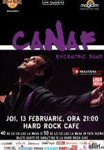 Concert Canaf & Excentric Band de Valentine's Day la Hard Rock Cafe din Bucureşti