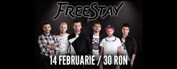 Concert FreeStay în Club Tribute din Bucureşti