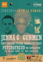 Jenna G, Psychofreud, Tony Anthem & MC Revelation la Arenele Romane din Bucureşti (CONCURS)