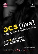 Concert OCS LIVE în Control Club din Bucureşti