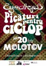 """Concert Eyedrops – """"Picături pentru ciclop"""" în Molotov din Bucureşti"""