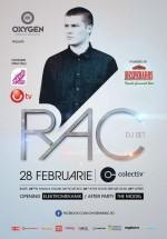 RAC (DJ Set) în Colectiv din Bucureşti (CONCURS)