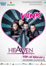 Concert VUNK – A Valentine's Story în Heaven Studio din Timişoara