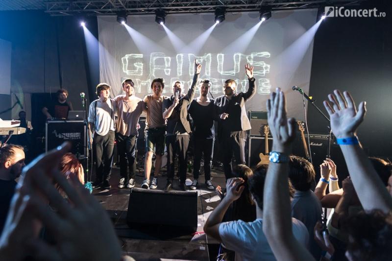 Trupa Grimus la finalul concertului - Foto: Daniel Robert Dinu / iConcert.ro