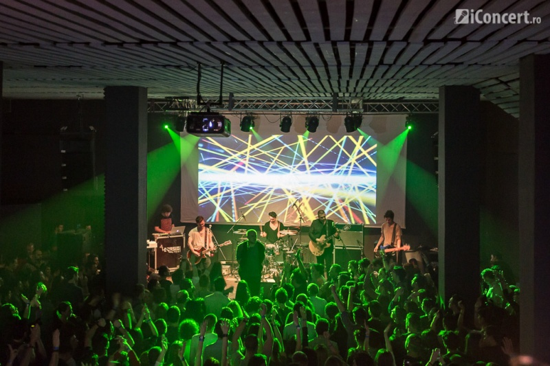 Grimus la concertul de lansare din Colectiv - Foto: Daniel Robert Dinu / iConcert.ro