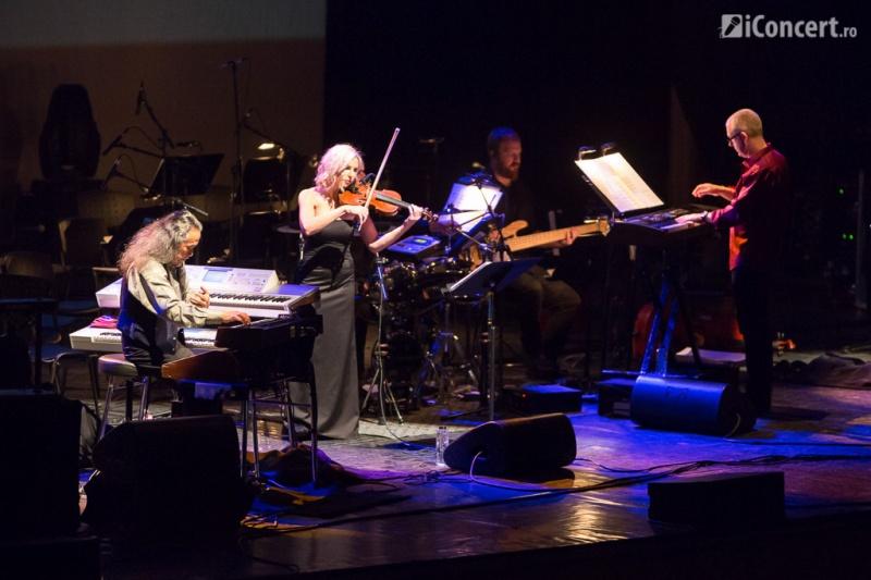 Kitaro alături de Santa Rosa Symphony la Sala Palatului - Foto: Daniel Robert Dinu / iConcert.ro