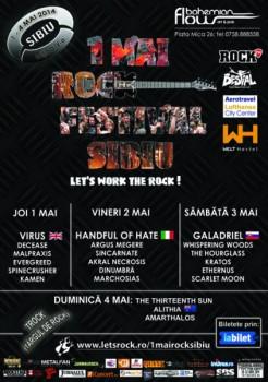 1 Mai Rock Festival 2014 în Bohemian Flow Art & Pub din Sibiu
