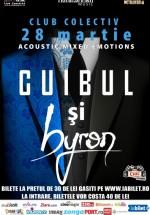 Concert acustic byron şi Cuibul în Colectiv din Bucureşti