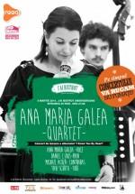 """Concert Ana Maria Galea Quartet – lansare """"I know you by heart"""" în J'ai Bistrot din Bucureşti"""