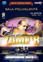 Concert Gheorghe Zamfir la Sala Polivalentă din Bucureşti – ANULAT