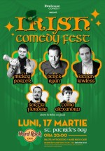 Irish Comedy Fest în Hard Rock Cafe din Bucureşti