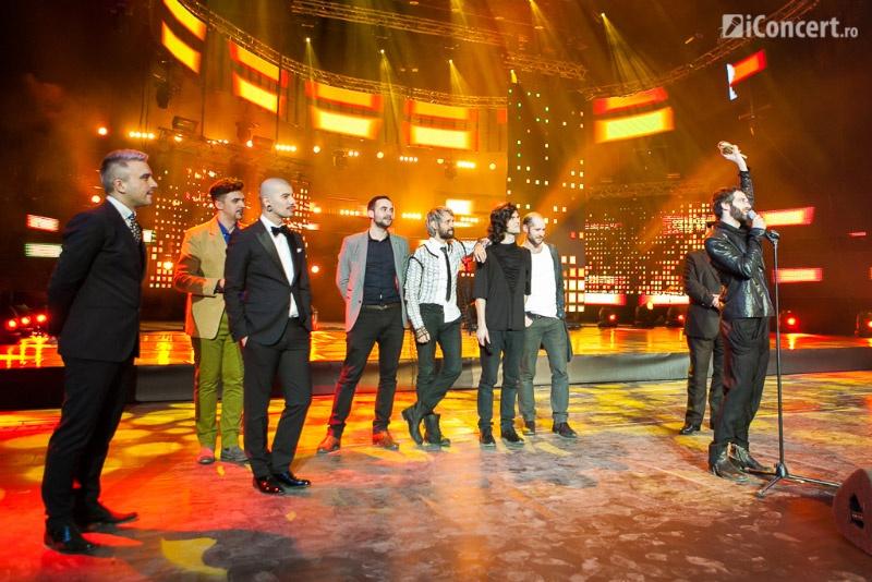 Robin and the Backstabbers pe scena On Air Music Awards 22013 - Foto: Daniel Robert Dinu / iConcert.ro