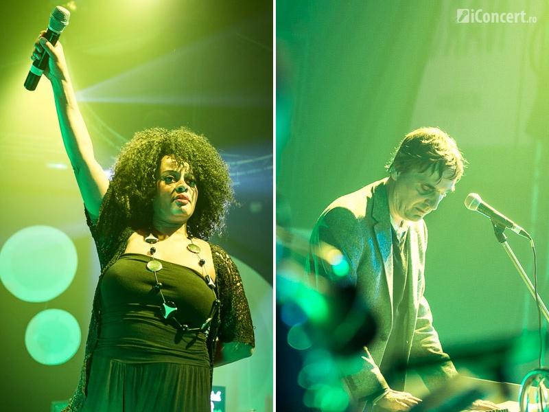 Waldeck în concert la Arenele Romane – Foto: Daniel Robert Dinu / iConcert.ro
