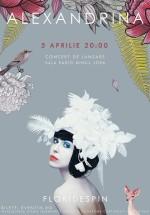 """Concert Alexandrina lansare """"Flori de Spin"""" la Sala Radio din Bucureşti"""