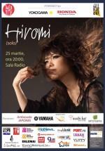 Concert Hiromi (solo) la Sala Radio din Bucureşti