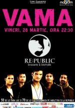 Concert Vama în RE:PUBLIC din Bucureşti